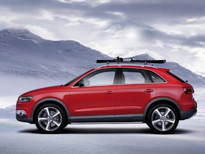 2012 Audi Q3 Vail Side Angle