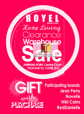 ROYEL Home Living Clearance Warehouse Sale 2012