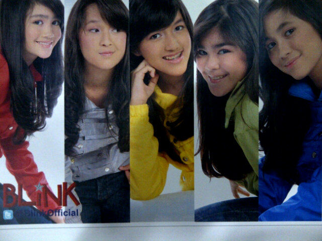 band indonesia foto cantik blink girl band indonesia foto imut blink ...