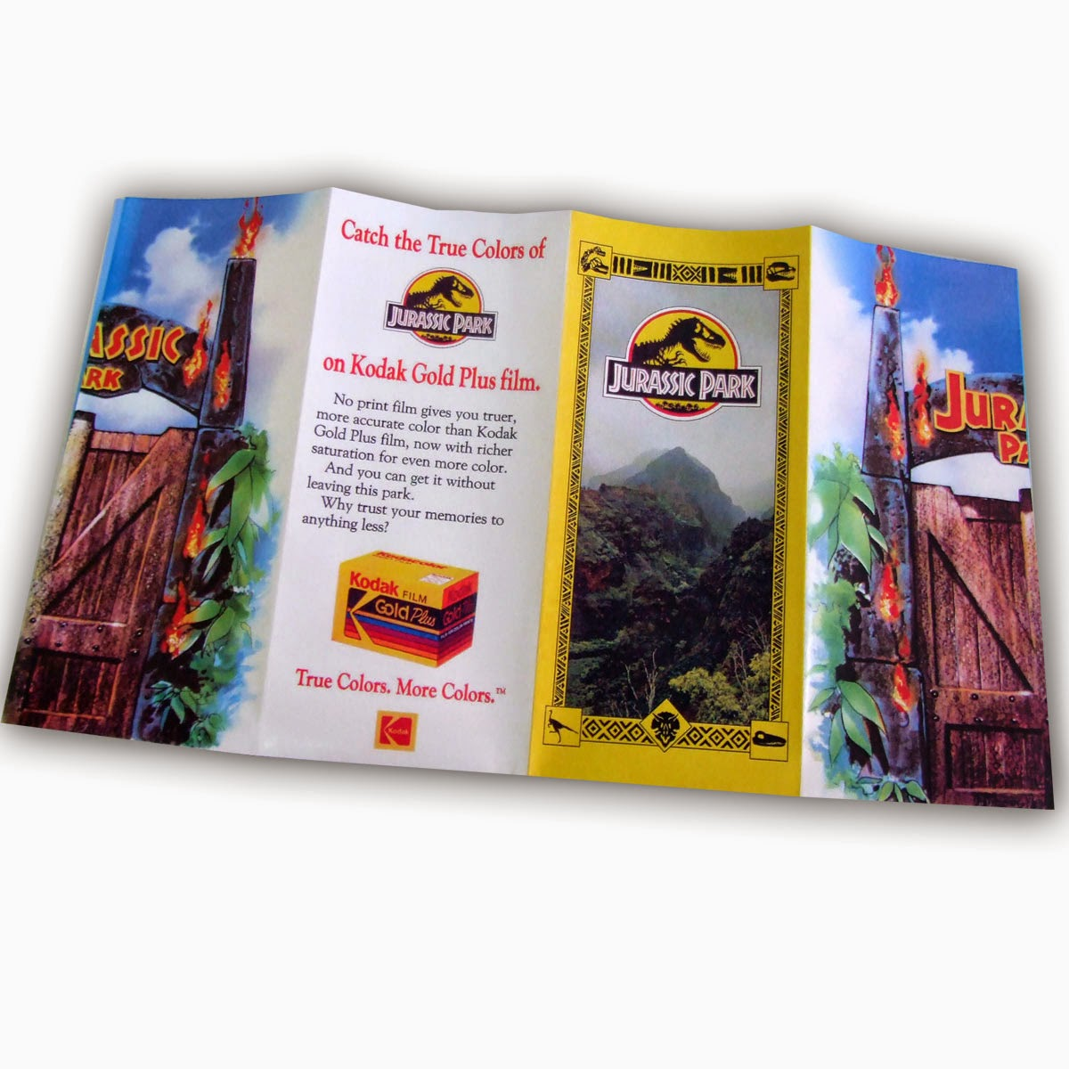 Folleto Turístico Parque Jurásico