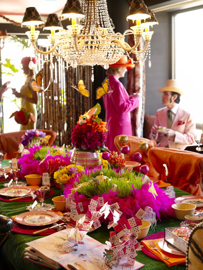 Halcyon days welcome to a mad hatter 39 s tea party - Mad hatter tea party decoration ideas ...