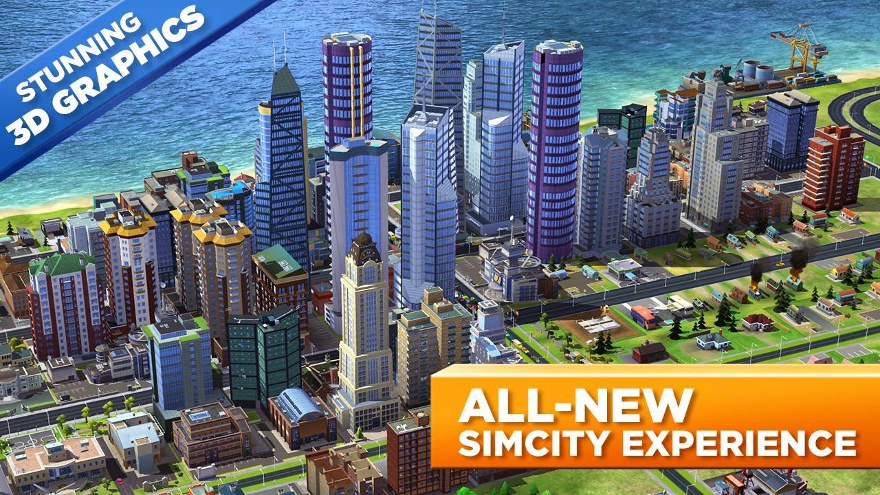 Download Mod SimCity Buildit 1.2.23.20736 Unlimited Money