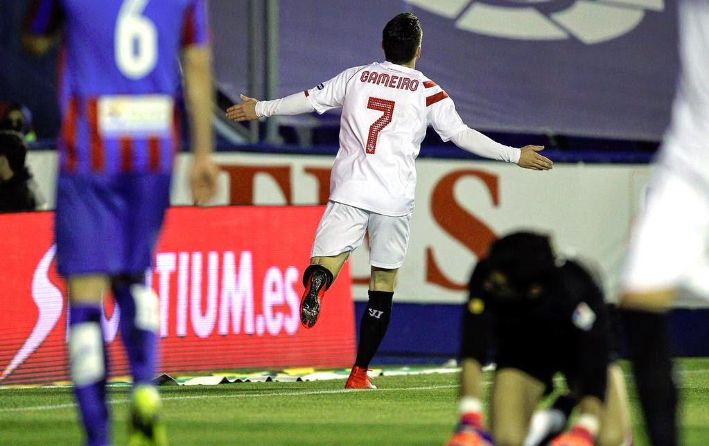 Crónica Levante 1 Vs Sevilla FC 2