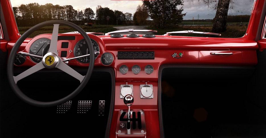 car i Ferrari 340 Berlinetta México por GWA-Tuning