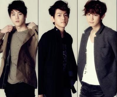 Bias Suho, Baek, Yeollie