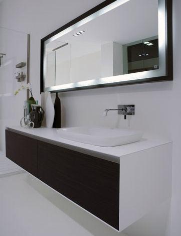 The ba os y muebles modernos dise os de espejos para el ba o for Espejos para banos modernos