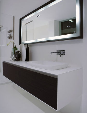 The ba os y muebles modernos dise os de espejos para el ba o - Espejo para bano moderno ...