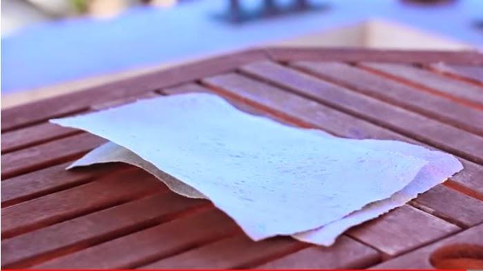 Cosas que inspiran: cómo hacer papel reciclado