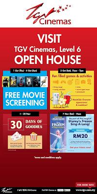 TGV Cinemas Sunway Putra Grand Opening open house