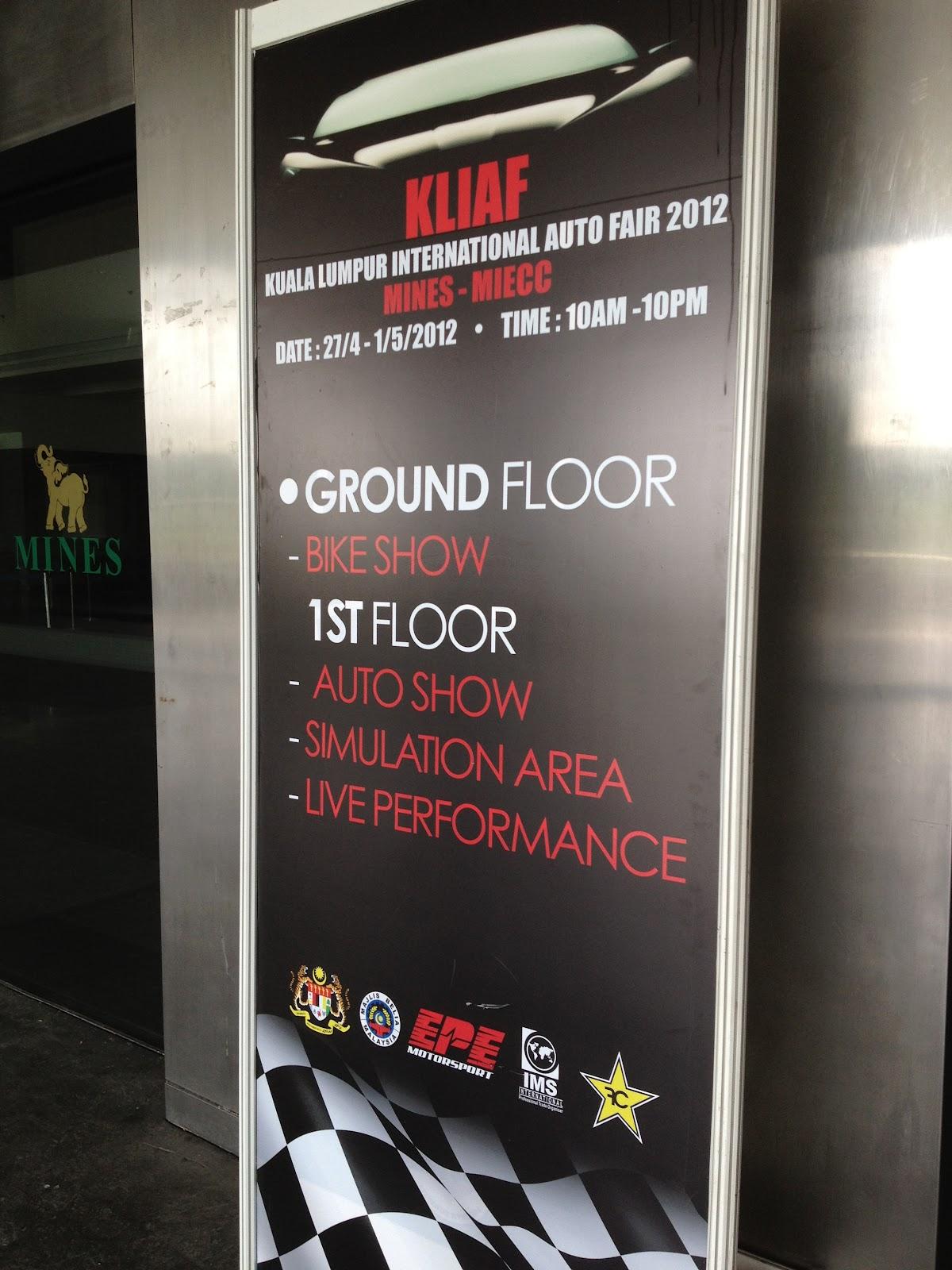 Kuala Lumpur International Auto Fair 2012 What a rip off kensomuse