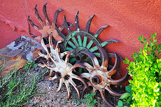 Antique Hay Rakes