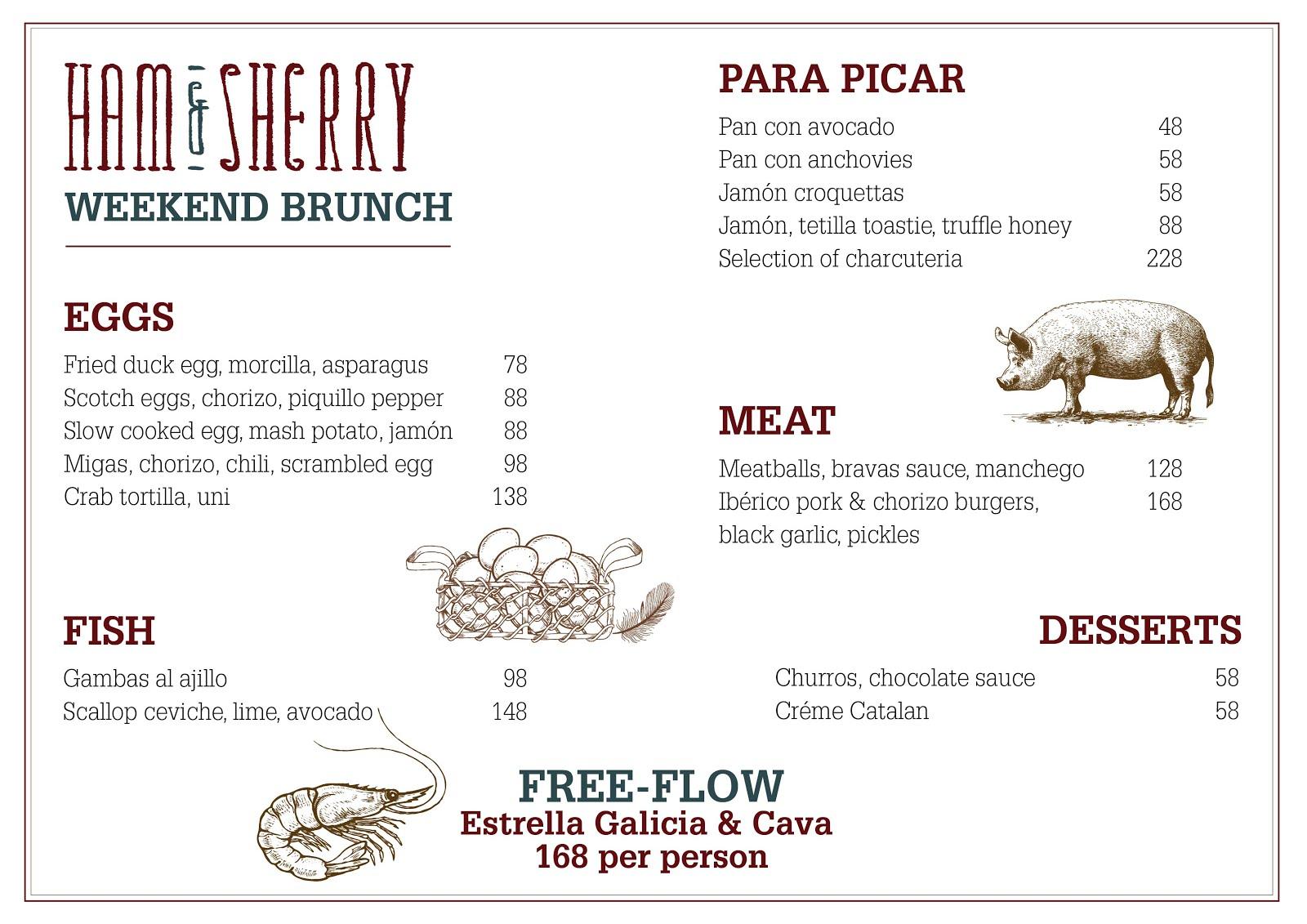 Ham & Sherry Spanish Eggelicious Brunch | hkblogger