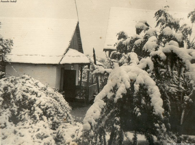 Nieve en Oberá Misiones - 20/08/1965