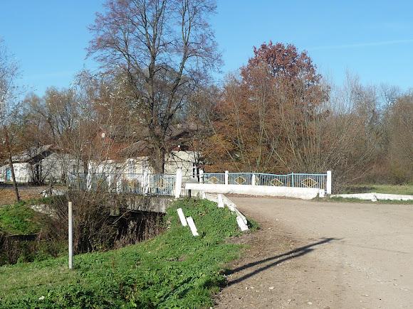 Добрівляни Дрогобицького району. Міст через річку Ведмежанку