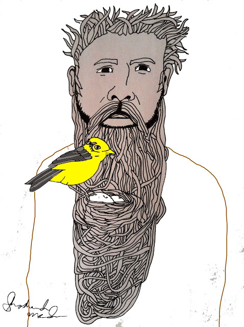 Chad never goes to the barber; He keeps a home for the Yellow Warbler.