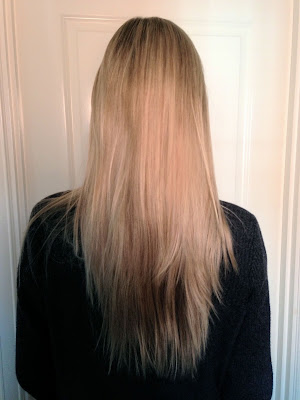 blonde highlights layered long