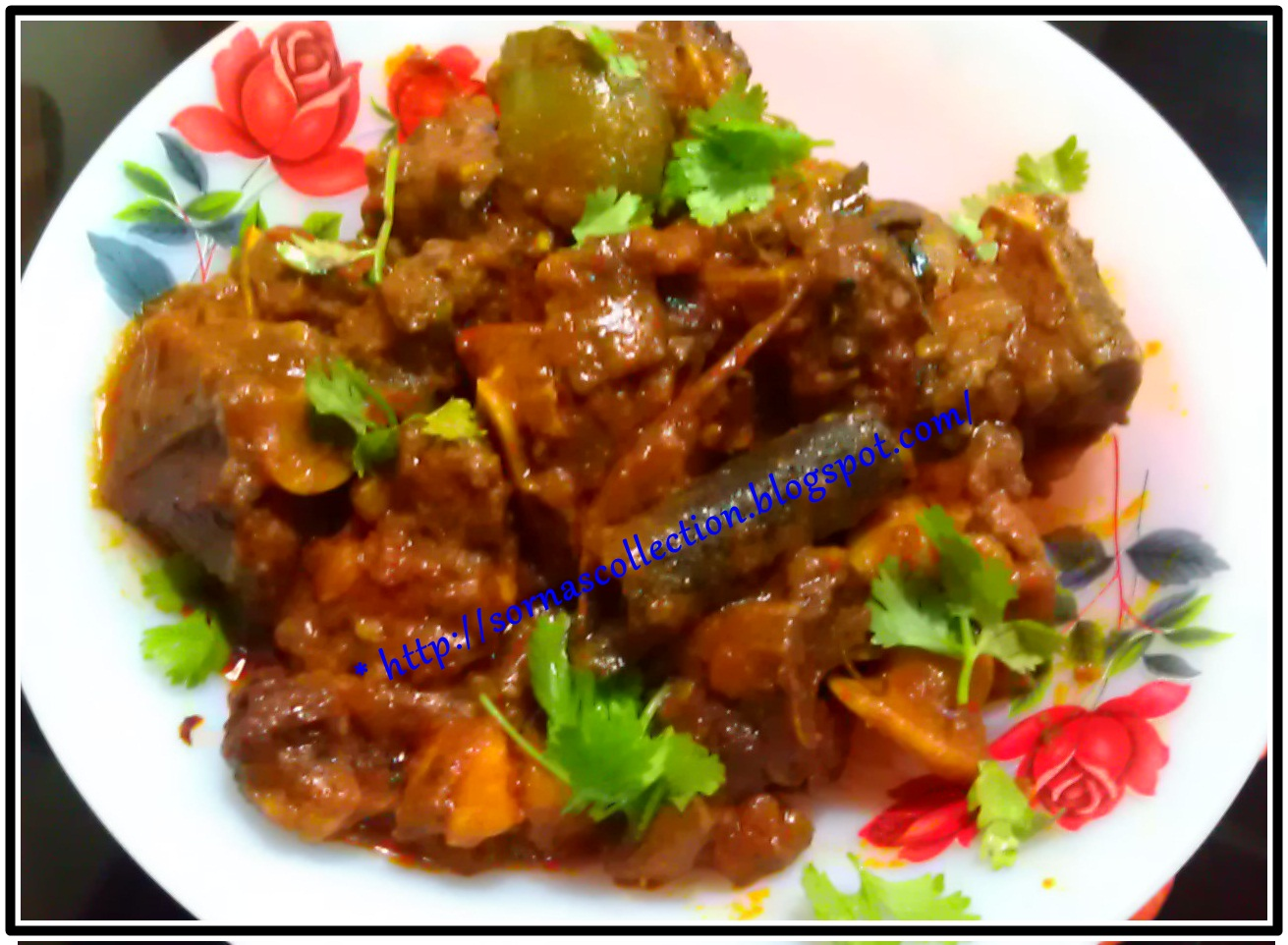 My Recipes: SPICY MUTTON DRY CURRY