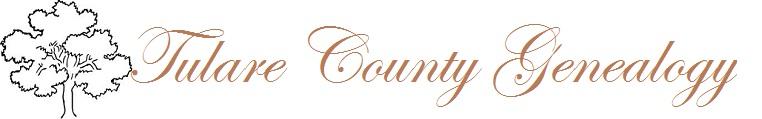 Tulare County Genealogy