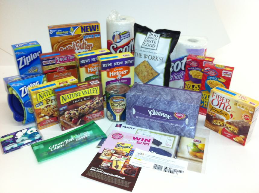 Pantry Stock Up prize pack