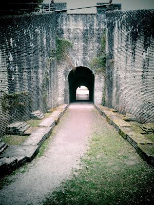ampitheatre, ruins,