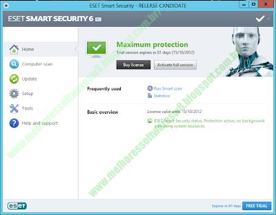 ESET Smart Security 6 2013 grátis por 90 dias