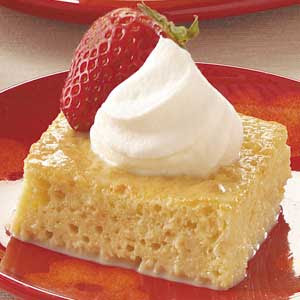 Tres Leches Cake With Caramel