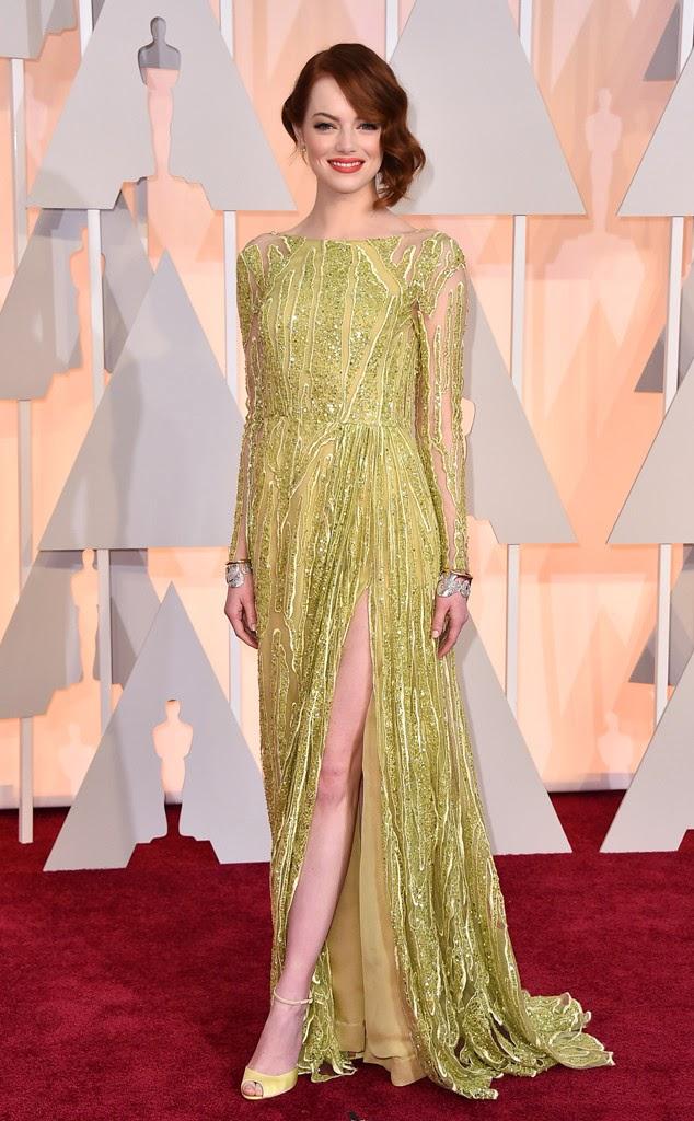 Emma Stone Academy Awards 2015 Oscars
