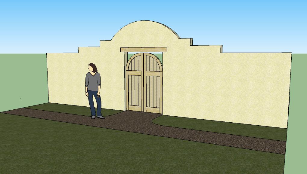 Artisan Design Southwestern Garden Gate Entrances