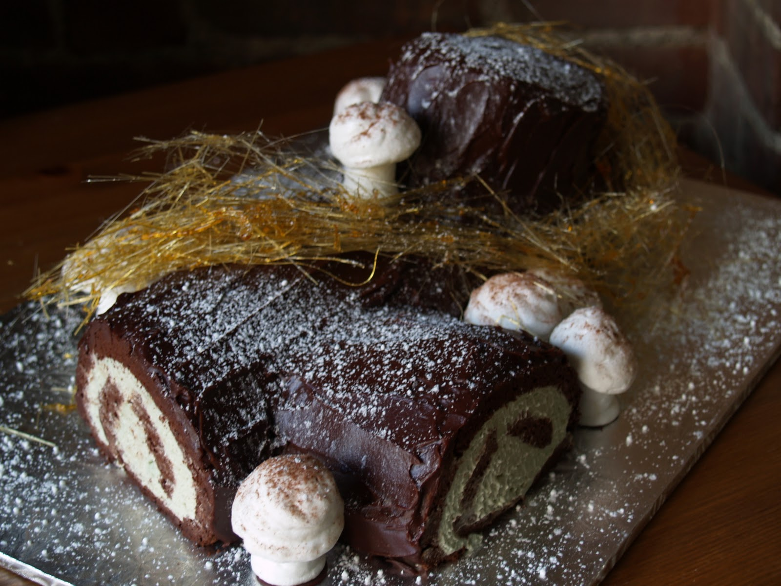 Buche de noel tartine recipe