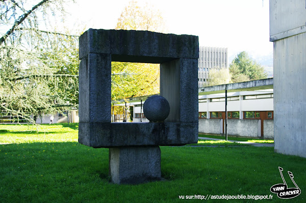 St Martin d'Heres - Campus Grenoble  FRONT  Pierre SZEKELY  1971