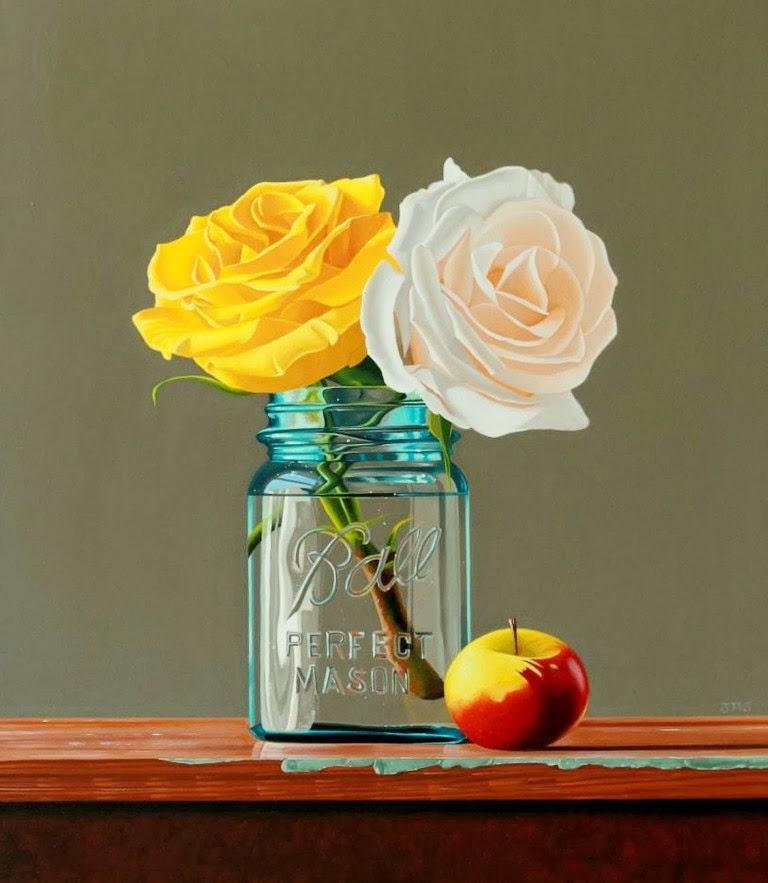 flores-coloridas-pintadas-en-oleo