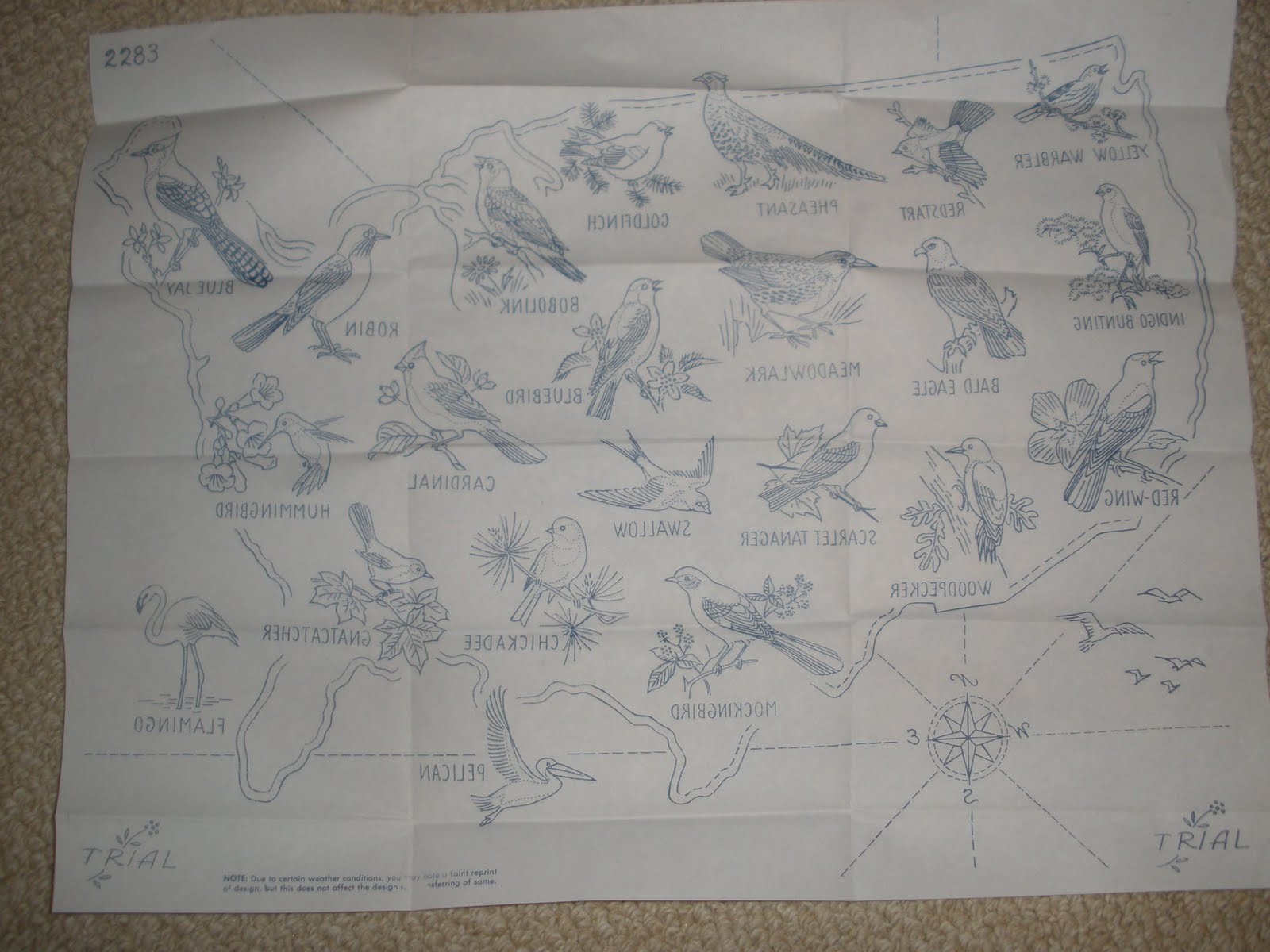Quilts Etc State Birds And Flowers A Special Embroidered Quilt - Us state map quilt