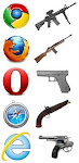 if browser were guns