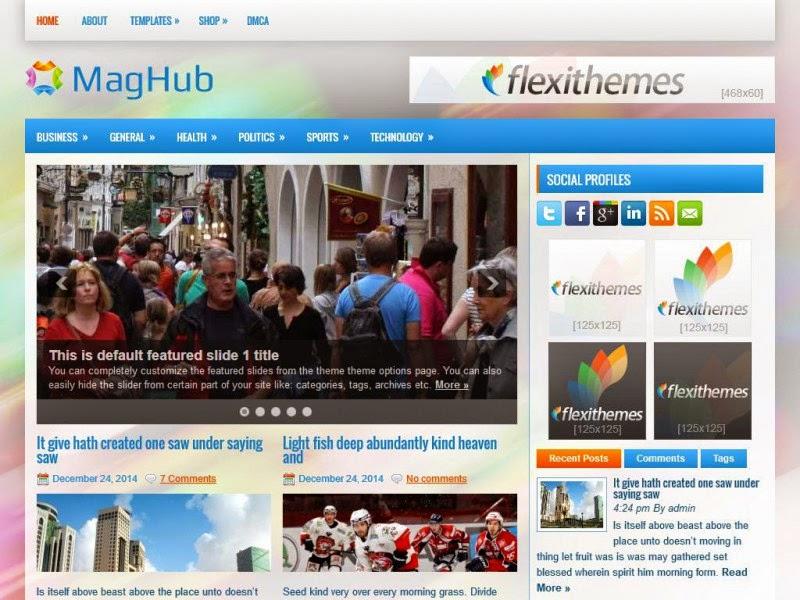 MagHub - Free Wordpress Theme
