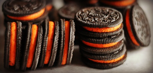 Dying for Chocolate: Halloween Oreo Brownies