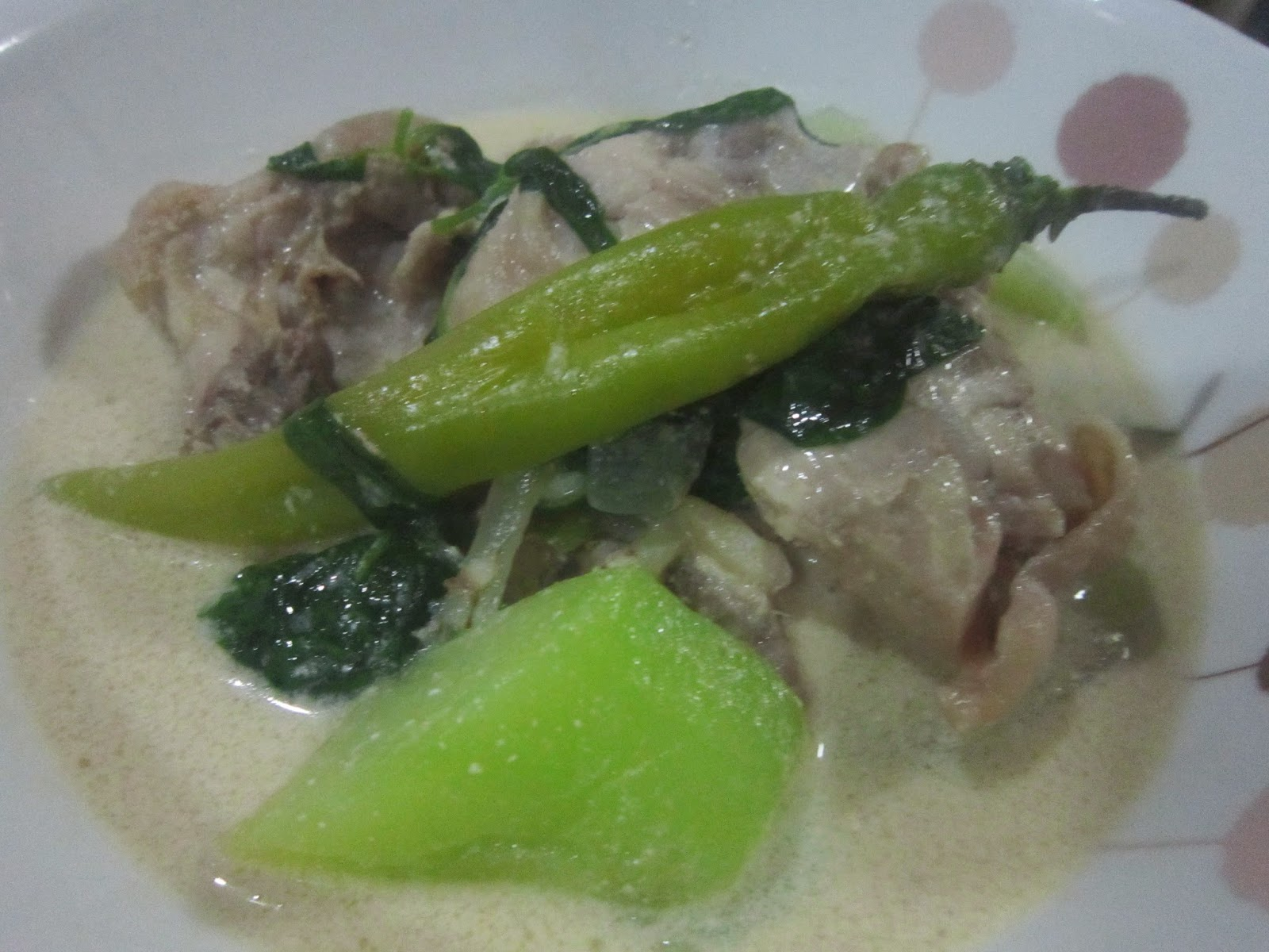 how to cook tinolang manok with sayote