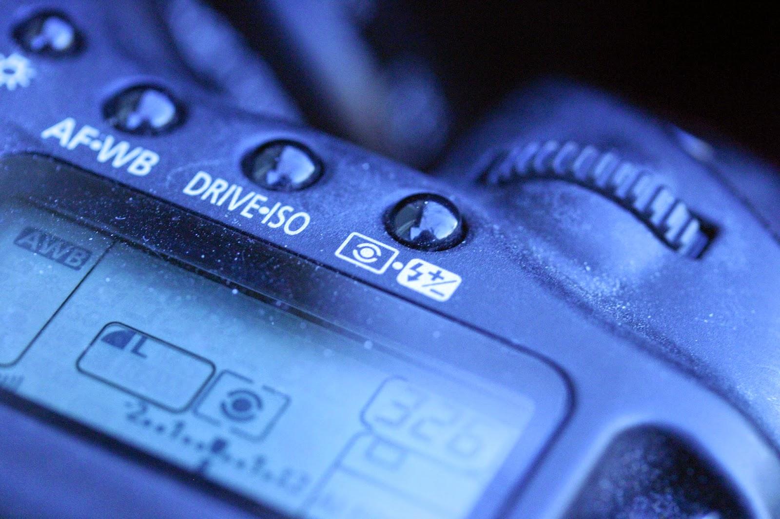 canon 20d controls