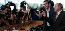 Tsipras em Berlim: veio, viu e... não é que venceu?
