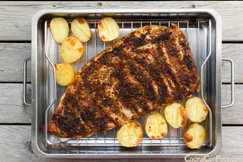 Costillas al horno con especias - Receta facil