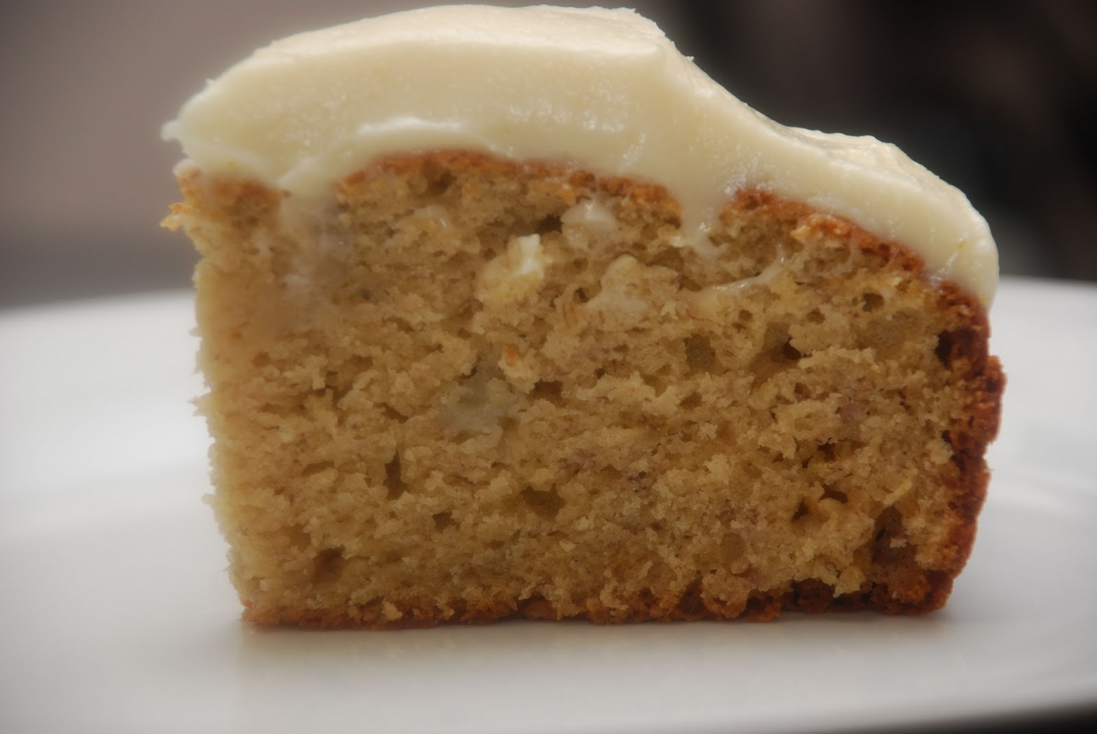Tomatoes on the Vine: Old-Fashioned Banana Cake with Cream ...