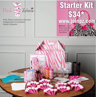 pink zebra kit