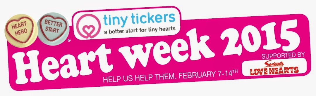 Raising Awareness – Tiny Tickers Heart Week 2015