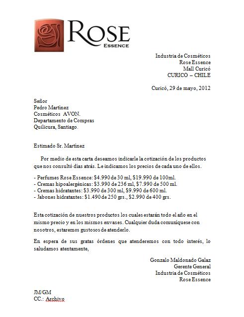 Gonzalo Maldonado: Cartas