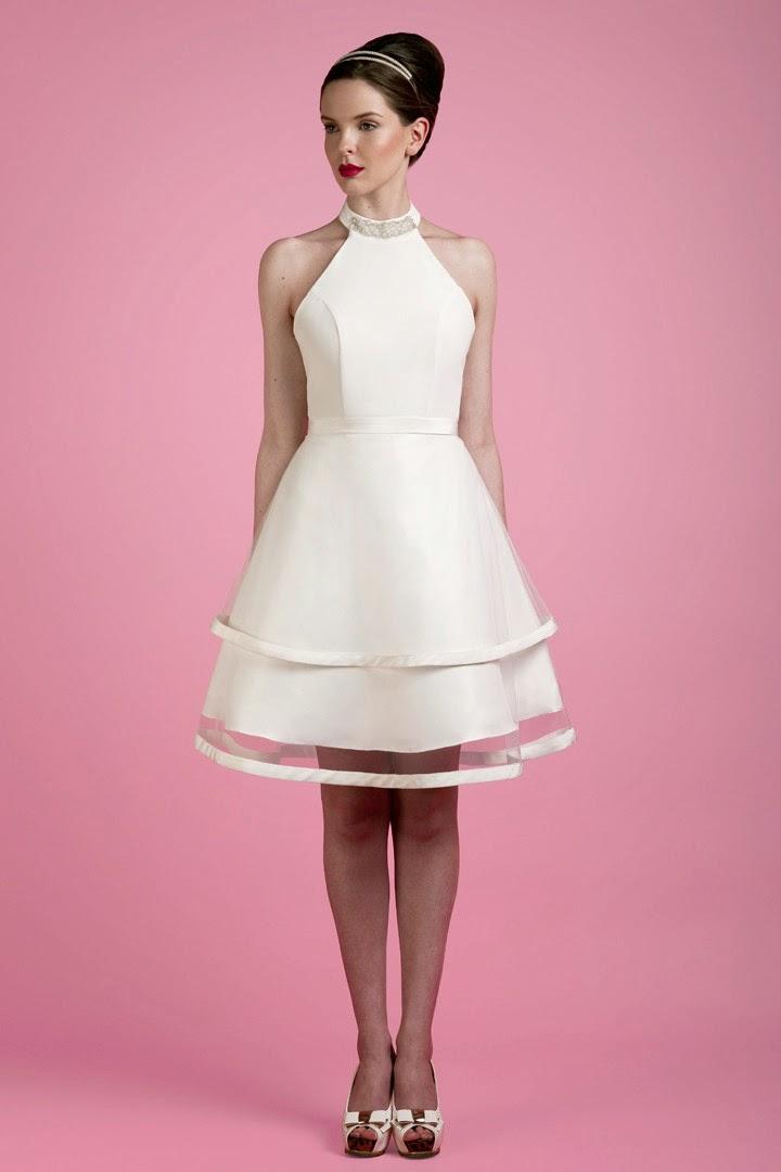 mis vestidos de novia: vestidos de novia cortos: tobi hannah (modelo
