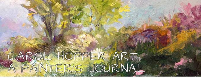 CAROL HOPPER -- A PAINTER'S JOURNAL