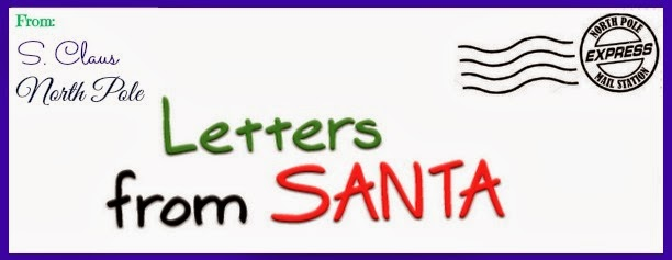 Frugal mom and wife free personalized letter from santa claus free personalized letter from santa claus spiritdancerdesigns Images