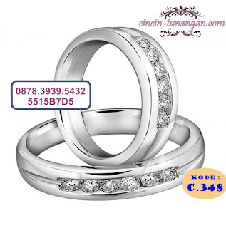 cincin pernikahan couple no 348