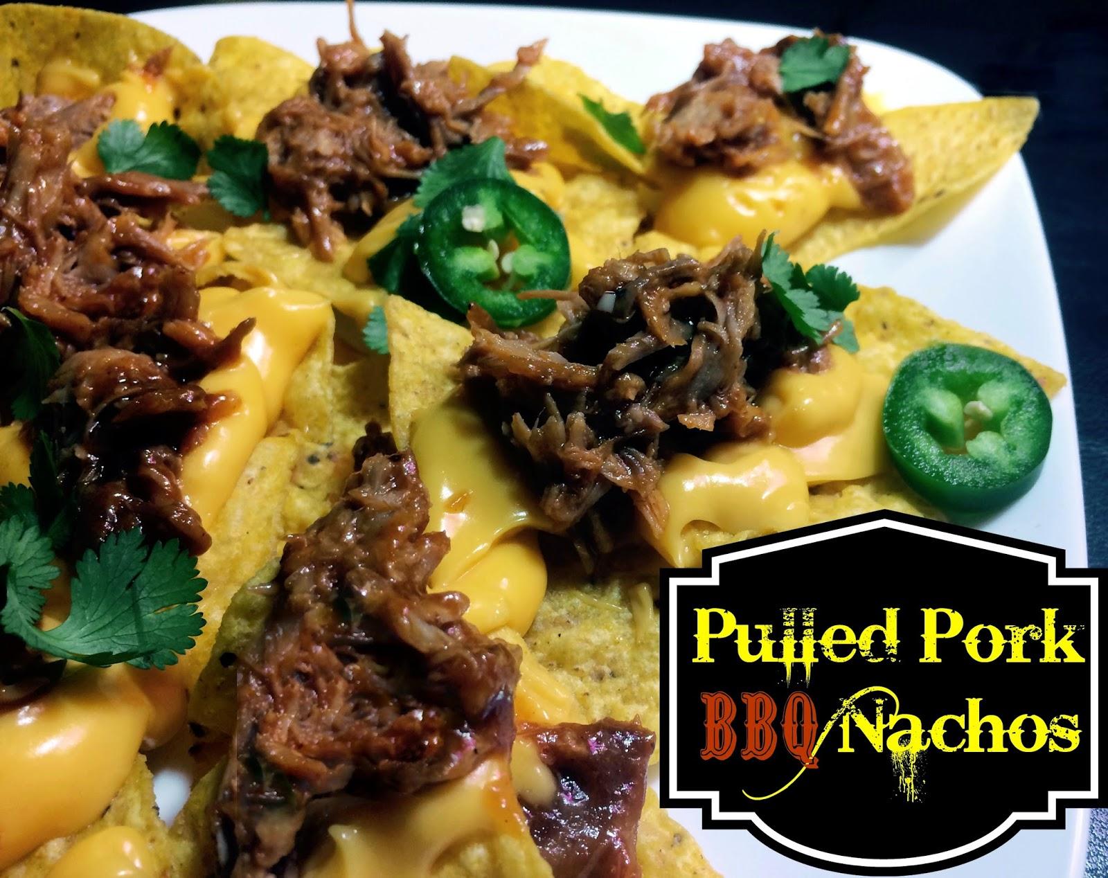 Pulled Pork BBQ Nachos | Aunt Bee's Recipes