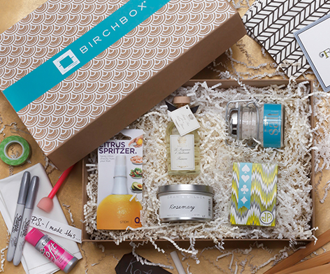 New Birchbox Limited Home Box! November 2012