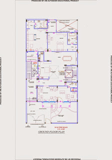 Up Country, Yamuna Expressway :: Floor Plans,Villa  4500 Sq. Ft. (500 Sq. Yd.):Total Buildup Area by us-12195 Sq.ft:-Ground Floor Plan Area: 3461.583 sq ft